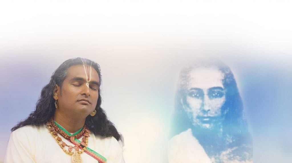 Sri Swami Vishwananda und Mahavatar Babaji